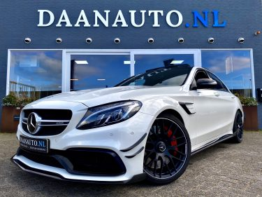 Mercedes-Benz C63s c63 s AMG Edition 1 te koop kopen carbon wit sedan 510 pk full options Amsterdam daan auto Daanauto