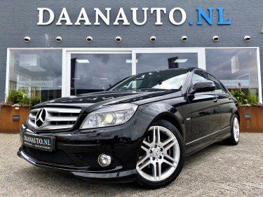 Mercedes-Benz C200 K Avantgarde AMG c180 zwart c klasse te koop kopen heemskerk beverwijk Daanauto