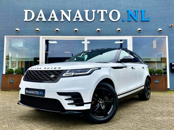 Range Rover Velar 2.0 I4 AWD R-Dynamic HSE wit occasion te koop kopen Amsterdam heemskerk beverwijk
